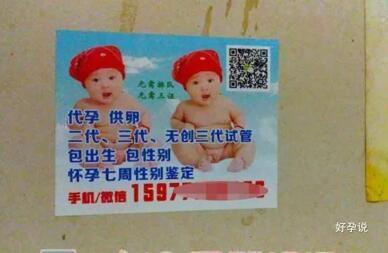 厕所里的小广告,试管婴儿包生儿子,是真的吗?插图3