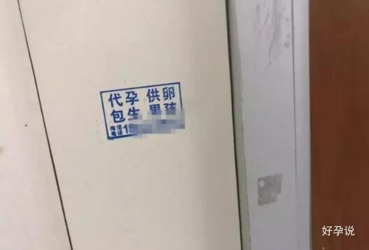 厕所里的小广告,试管婴儿包生儿子,是真的吗?插图